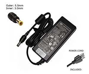 "Laptop Notebook Charger for Samsung NP350U2B NP300V4A NP300U1A  Adapter Adaptor Power Supply ""Laptop Power"" Branded (Power Cord Included)"