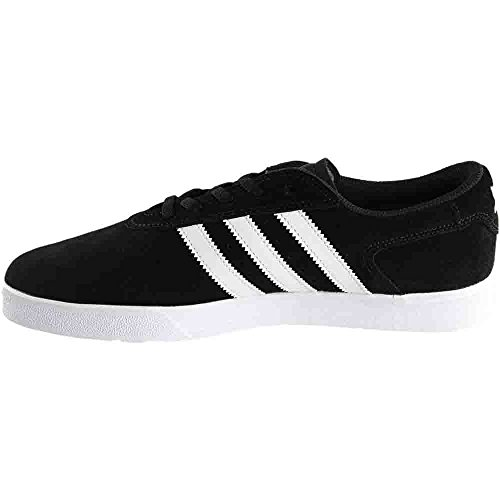 Silas Adidas Vulc Adv Nero / Scarpe Da Skate Bianco Nero / Bianco / Camoscio Bianco