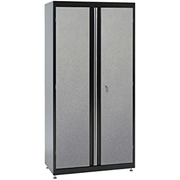 Amazon.com: UltraHD Tall Storage Cabinet - Stainless Steel: Home ...
