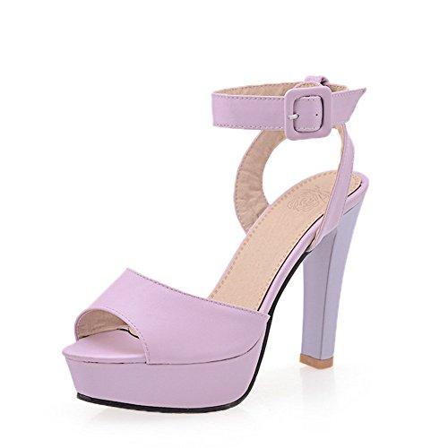 EuSlc00022 Sandales Pour Adeesu Violet34 Femme ZiTPkOXu
