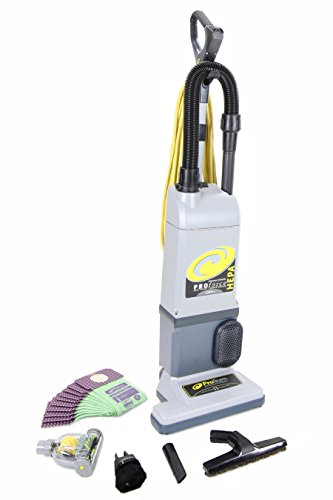 Proteam Proforce 1200xp Upright Vacuum Cleaner Loaded w. 12 bags, tools, GV mini head & warranty Pet HEPA