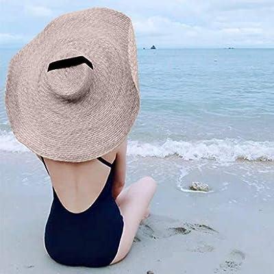 d5e7e213c Souqgreen👒Women's Summer Fashion Large Sun Hat Beach Holiday Anti ...