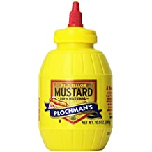 Plochman's Premium Mild Yellow Mustard, 10.5 OZ (Pack of 2)