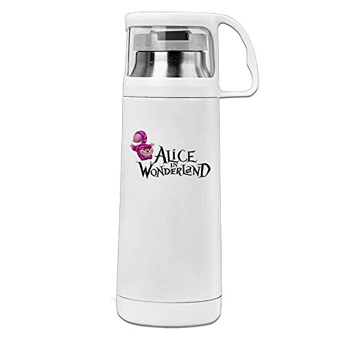 [HAULKOO Alice In Wonderland Stainless Steel Thermos Cup] (Kim Edward Scissorhands Costume)