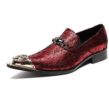 sélection premium b7294 b1864 LOVDRAM Chaussures en Cuir pour Hommes Hommes Oxfords ...