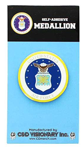 Licenses Products Air Force Self-Adhesive Medallion