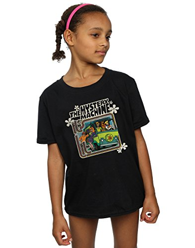 Scooby Doo Girls Mystery Machine T-Shirt 9-11 Years -