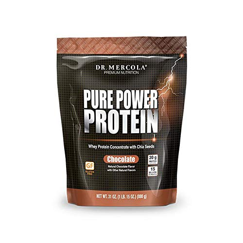 Dr. Mercola Pure Power Protein – Chocolate, 31oz