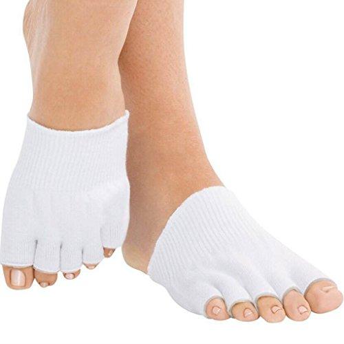 TASOM Toe Alignment Socks & Toe Gel Socks - Toes Spreaders, Spacer & Separator