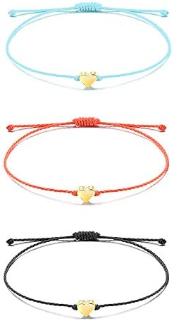 Tarsus 100/% Waterproof Friendship Wish Bracelets Set for Women Girls String Handmade Beaded Adjustable Birthday Gift Party Favor 10Pcs