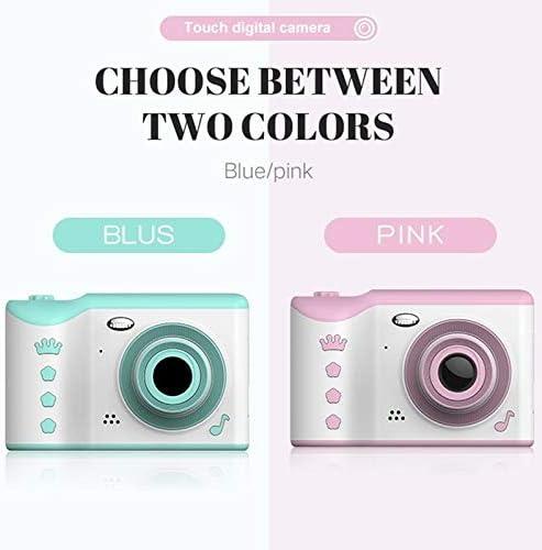 HENGTONGTONGXUN Children Camera 2.8 Easy to use Bundle : Add 32G Memory Card, Color : Pink