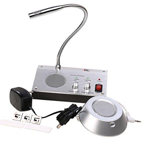 uhppote–Dual-Way anti-interferencia sin ruido banco oficina estación de almacenar ventana micrófono grabación de...