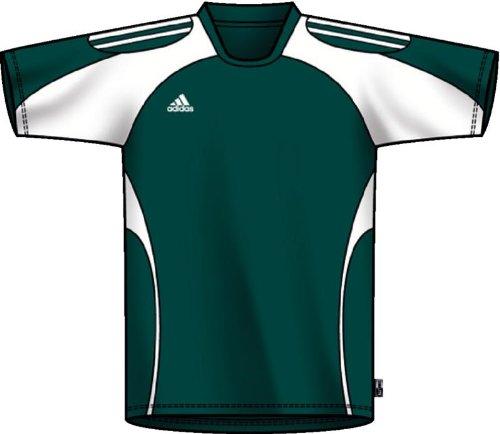 - adidas Men's Toque Jersey, Forest, White, Medium