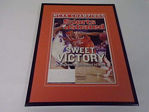 Carmelo Anthony 11x14 Framed ORIGINAL 2003 Sports Illustrated Cover Syracuse