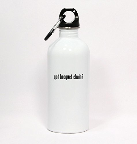 got-brequet-chain-white-water-bottle-with-carabiner-20oz