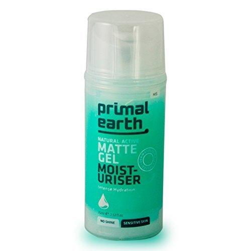 Primal Earth Matte Gel After-Shave Moisturiser 75ml (2.5 oz) by Primal (Matte After Shave)
