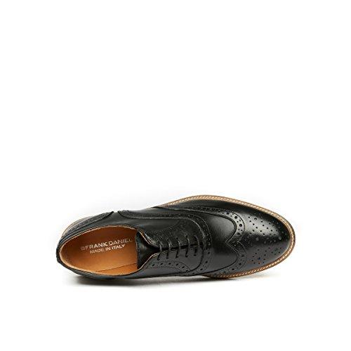 Oxford Noir Noir Daniel Femme de à Lacets Chaussures Pour Ville Frank A5vOzqO