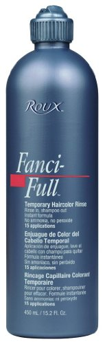 Roux Fanci-Full Temporary Hair Color Rinse - #52 - White Mink 15 oz. (Pack of 2)