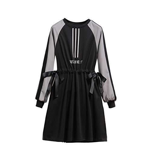 Des Taille Nouvelle Mince Robe Une Femmes La Cordon Gmyanlyq Mot D'automne Grandes Était De Xxxxl Jupe EvxqI8w