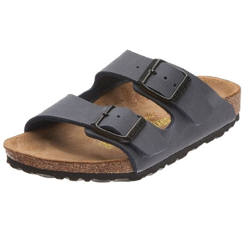 87d9f0e1d72dd Birkenstock Unisex Arizona Soft Footbed Suede Sandals, Blue - 41 M EU /  10-10.5 B(M) US