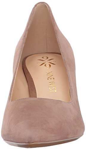 big discount Nine West Women's SOHO9 X 9 Suede Pump Natural clearance release dates free shipping for nice online sale QvbHYFF