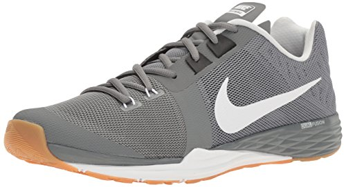 - NIKE Men's Train Prime Iron DF Cross Training Shoe, Cool Grey/White/Black/Pure Platinum, 8 D(M) US