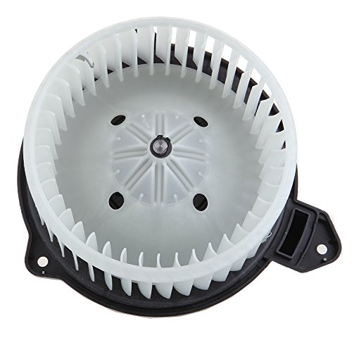 ECCPP ABS Plastic Heater Blower Motor w/Fan Cage Blower Motor Resistor Replacement fit for 2002-2008 Dodge Ram 1500 2500 3500 4000/2002-2004 Jeep Grand Cherokee