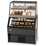 Federal Industries CH3628SS/RSS3SC Specialty Display Hybrid Merchandiser Refrigerated Self-Serve Bottom With Hot Self-Serve Top