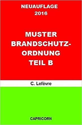 buy muster brandschutzordnung teil b german edition book online at low prices in india muster brandschutzordnung teil b german edition reviews - Brandschutzordnung Muster
