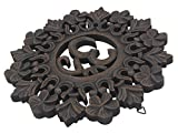 DharmaObjects Handcrafted Wooden Om Wall Decor