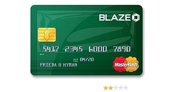 Stink Sack Blaze Master Kush XX-Small Masterkush Credit Card Bag