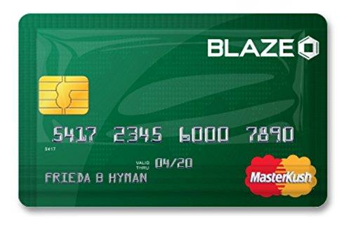 Stink Sack Blaze Master Kush XX-Small Masterkush Credit Card Bag -
