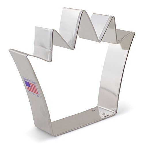King Crown Cookie Cutter - Ann Clark – 4.25 Inch - US Tin Plated Steel