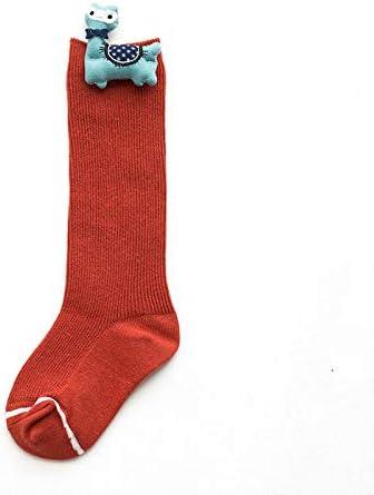 wgl Otoño/Invierno calcetines para niños medias medias medias de algodón para hombre y niñas 5 pares Código M Rojo: Amazon.es: Ropa y accesorios