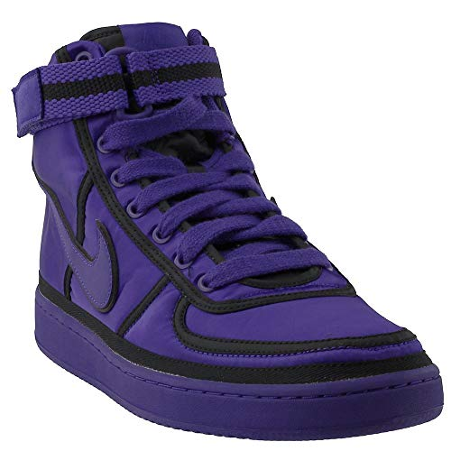 Shoe Mens Supreme (NIKE Men's Vandal High Supreme QS Prpl Court Purple/Court Purple Basketball Shoe 9.5 Men US)