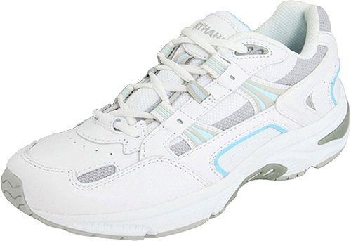 Vionic Women's Walker Classic Shoes, 8.5 C/D US, White/Blue