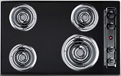 - Summit TEL05 Kitchen Electric Cooktop, Black