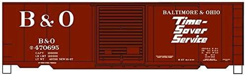 Accurail HO 40 PS-1 Steel Boxcar B/&O #470695 ACU81303