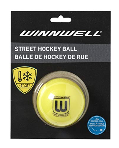 Yellow Low Bounce 65MM Street Hockey Ball Soft for Cold Weather – DiZiSports Store