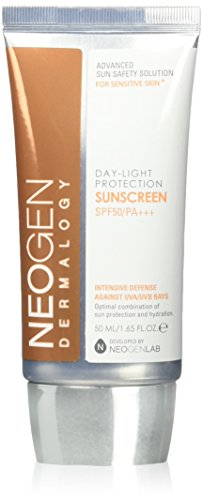 Neogen Dermalogy Day-Light Protection Sun Screen 50ml/1.65FL.OZ. SPF50/PA+++ Intensive Defense Against UVA/UVB Rays (Best All Day Sun Cream)