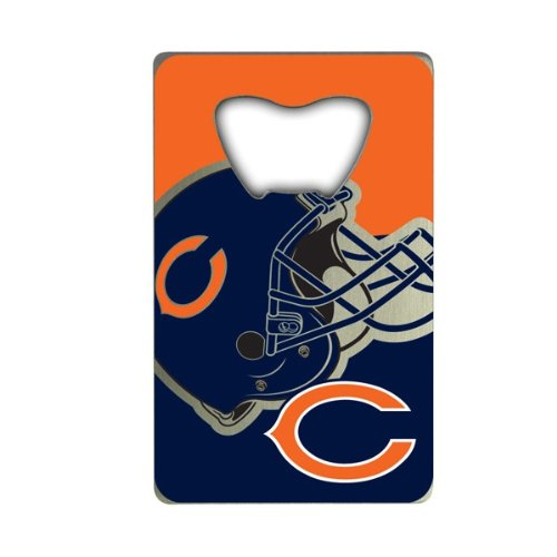 NFL Chicago Bears Credit Card Style Bottle Opener