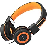 Elecder i40 Headphones with Microphone Foldable...
