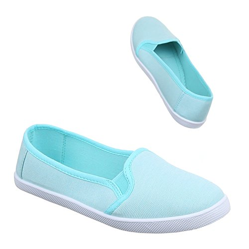 Ital-Design - Zapatos Mujer Azul - azul claro
