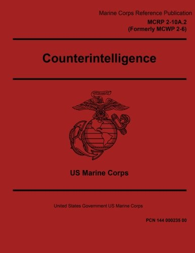 Marine Corps Reference Publication MCRP 2-10A.2 Formerly MCWP 2-6 ...