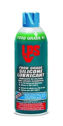 Lps Food Grade Silicone Lubricant 10 Oz Aerosol Pack Of 12