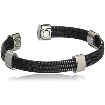 Amazon Com Sabona 36570 Trio Cable Black Satin Stainless