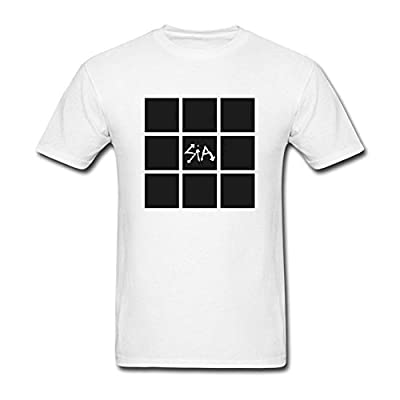 IIKIOO Men's This Is Acting Sia songwriter T-shirt White