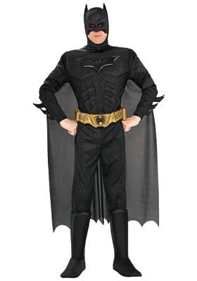 Adult Deluxe Dark Knight Batman Costume X-Small