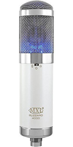 - MXL 4000 Blizzard Limited Edition Multi-Pattern FET Studio Condenser Microphone