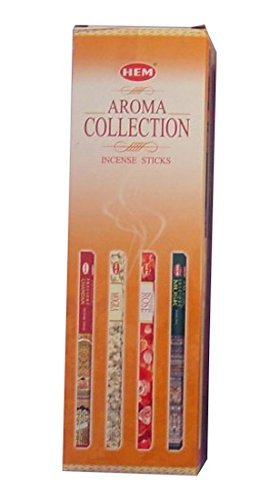 - YARLIO Hem Aroma Collection 25 Different Scents, 200 Sticks